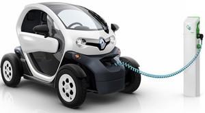 Renault twizy cargando col
