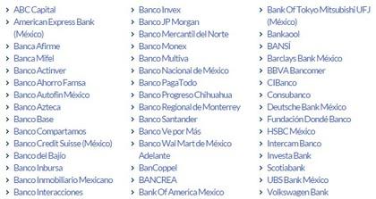 Bancos m%c3%a9xico foro