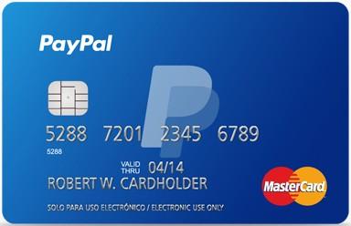 Tarjeta Promo regalo PayPal