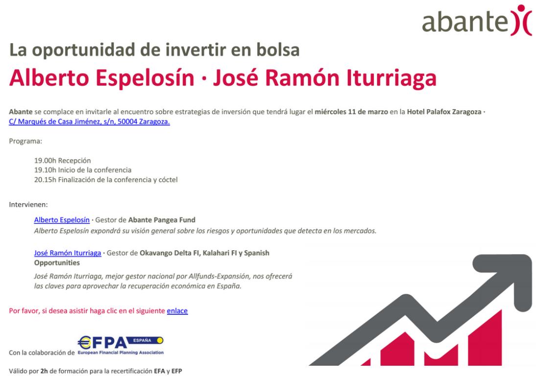 Evento Abante Zaragoza