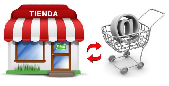 Compra on line frente tienda fisica