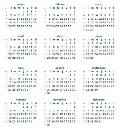 Calendario Laboral Colombia 2015 (Días Festivos) - Rankia