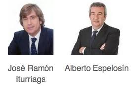 José Ramón Iturriaga y Alberto Espelosín