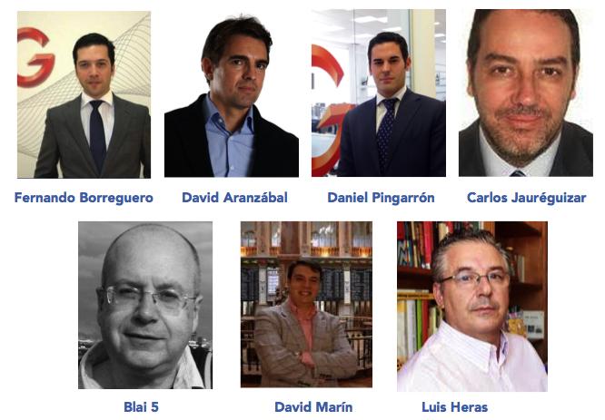 ponentes IG