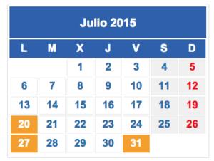 Calendario fiscal julio.2015 col