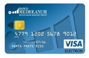 Tarjeta sin comisiones en el extranjero banco mediolanum col