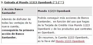 Mundo 123 cuenta 123 openbank col
