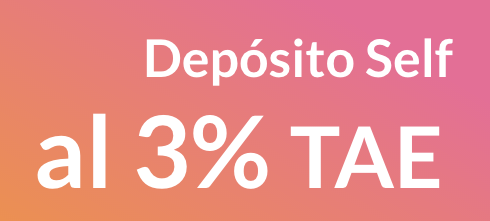 Depósito Self: 3% TAE durante 3 meses