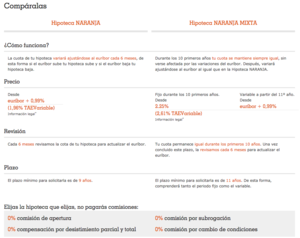 Comparaci%c3%b3n hipoteca naranja ing mixta col