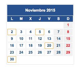 Calendario fiscal noviembre col
