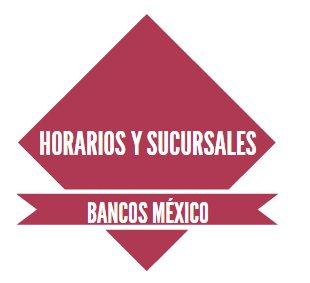 Horarios bancos m xico for Horario sucursales