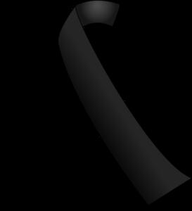 Lazo negro vector col