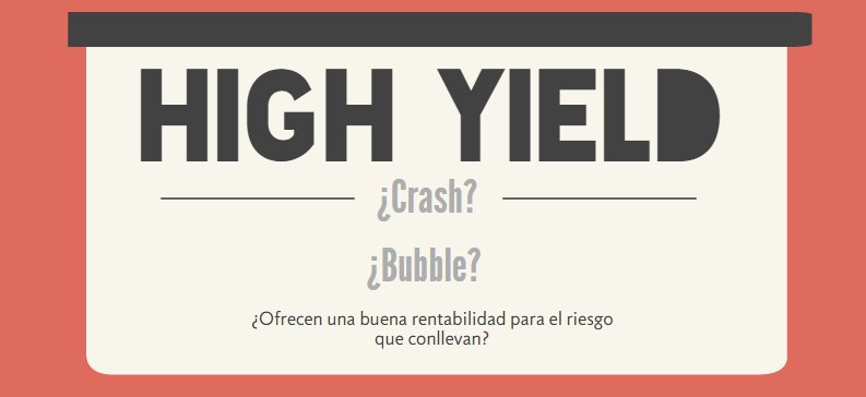 Fondos de inversión High Yield
