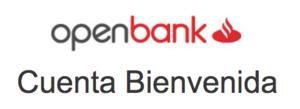 Cuenta bienvenida openbank col