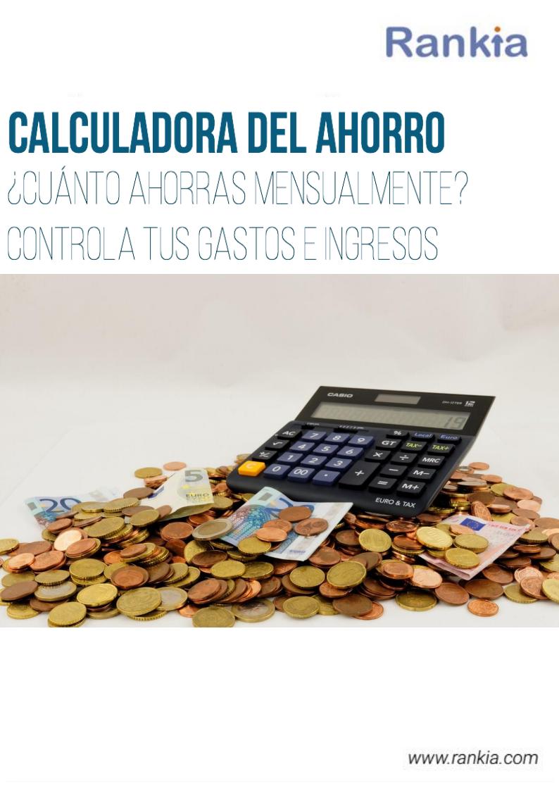 Calculadora del ahorro for Calculadora ahorro
