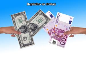 Depositos divisas col