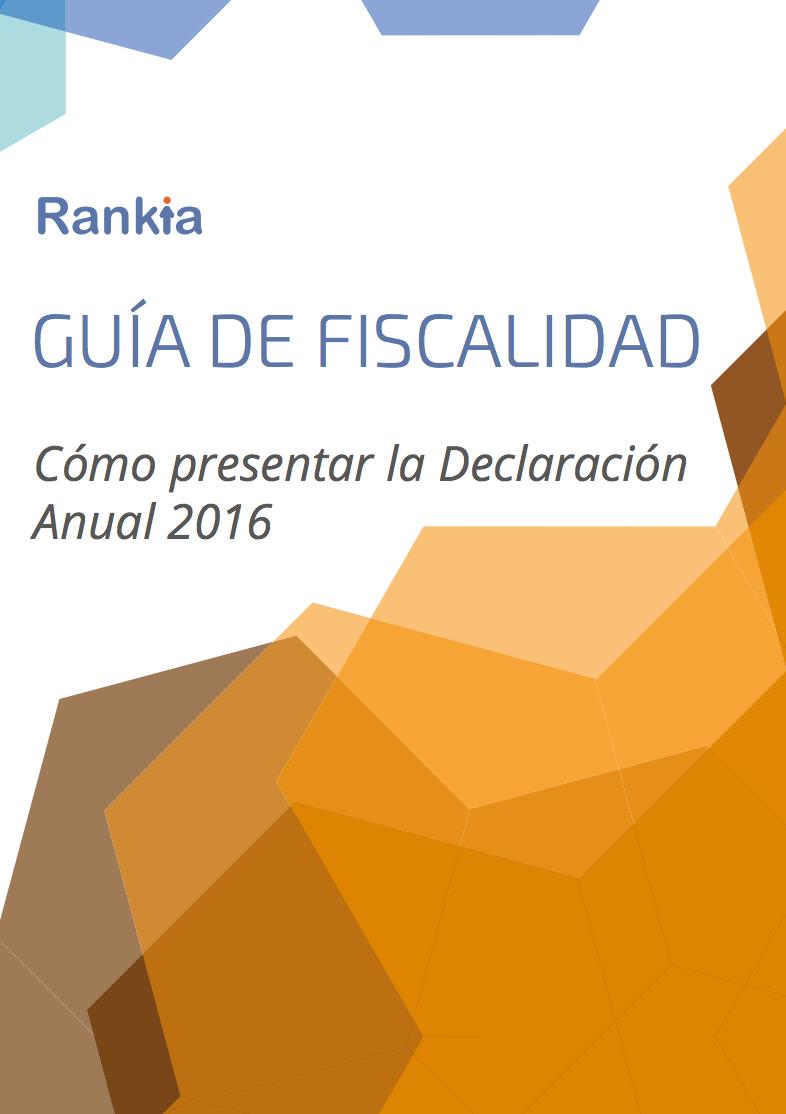 Cómo presentar la declaración anual 2016