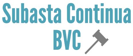 Subasta Continua de la BVC