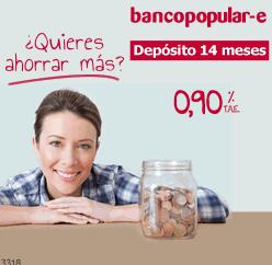 Deposito bancopopular e foro