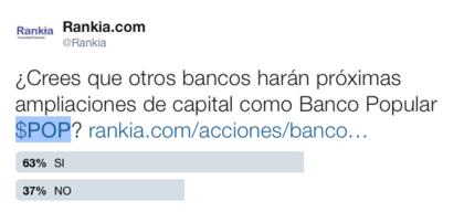 Sector bancario ampliaciones capital foro