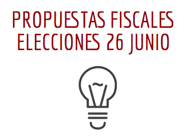 propuestas fiscales elecciones 26J