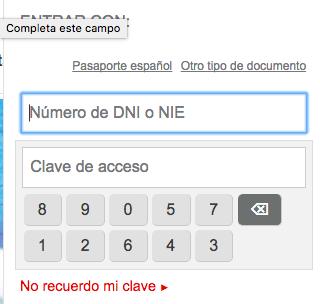 Teclado virtual openbank foro
