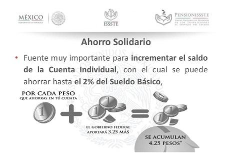 Ahorro solidario Ley del ISSSTE