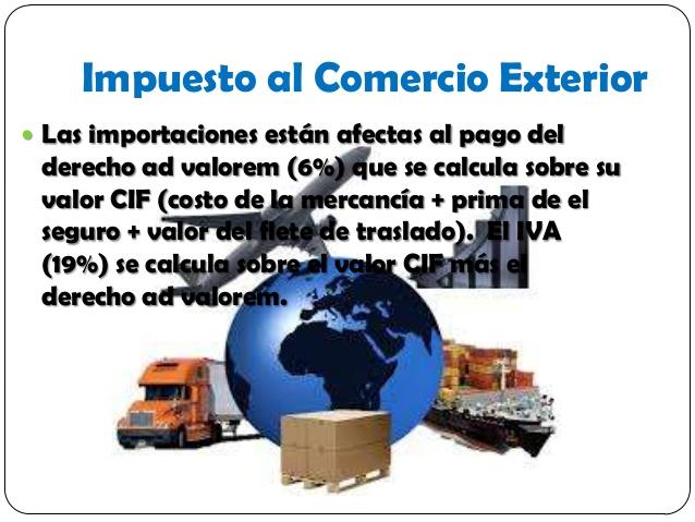 Cu l es el impuesto al comercio exterior rankia for Comercio exterior que es