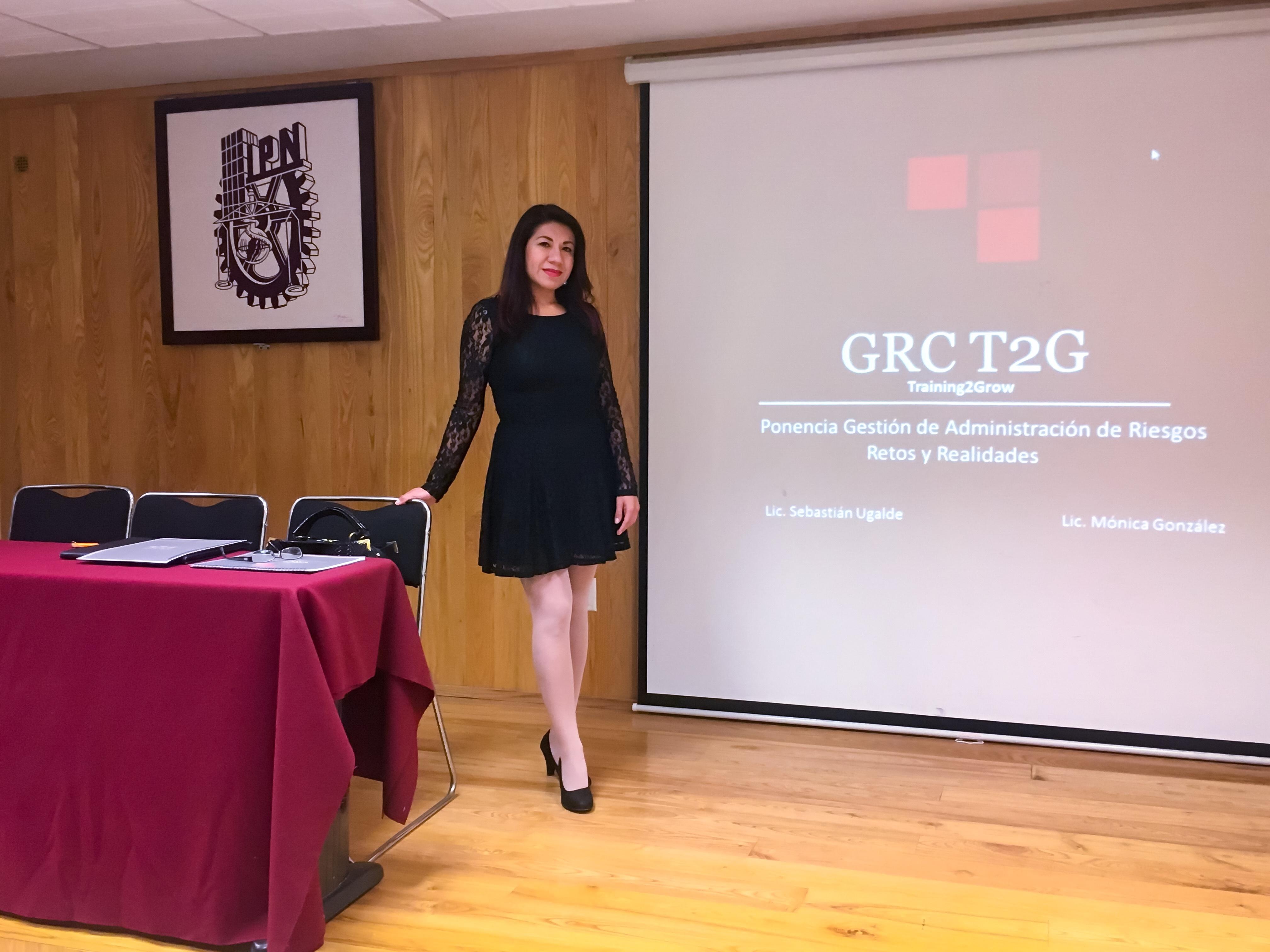 Monica Gonzalez, GRC Business&Lifestyle, GRC Training2Grow