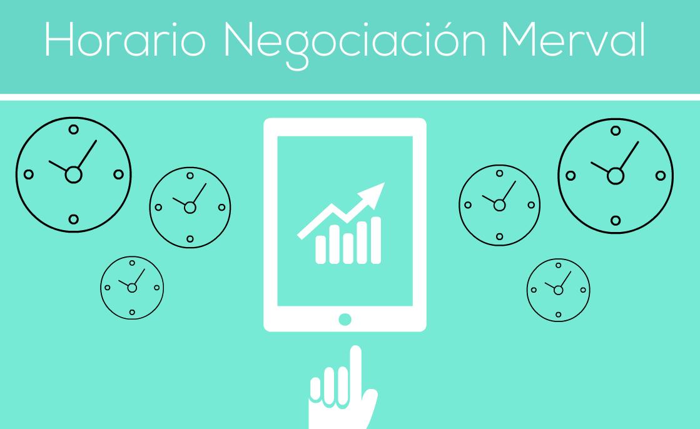 Horario de negociación Merval