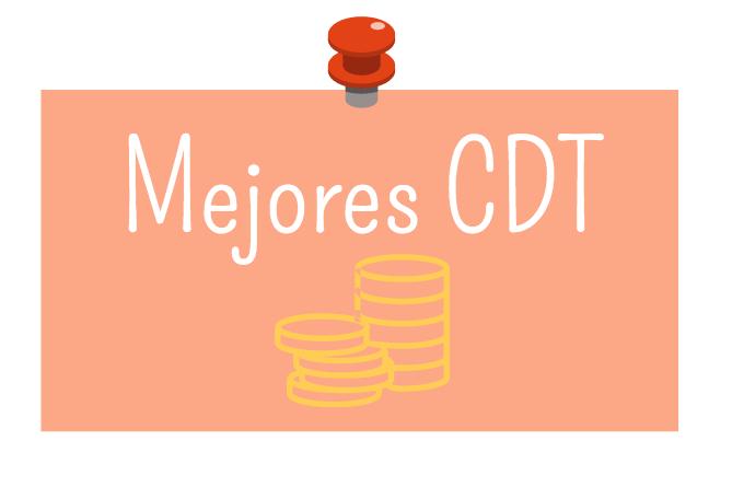 Mejores CDT 2017