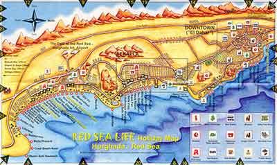 План Хургады
