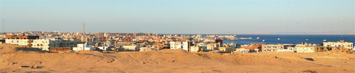 Панорама Хургады