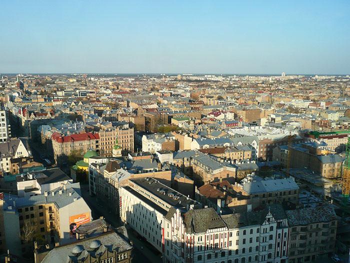 Панорама Риги