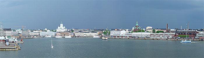 Панорама Хельсинки