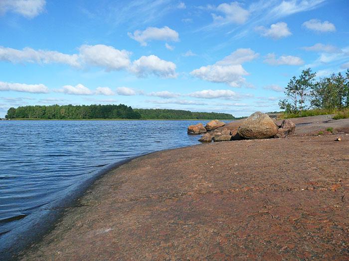 Остров Малый в Финском заливе