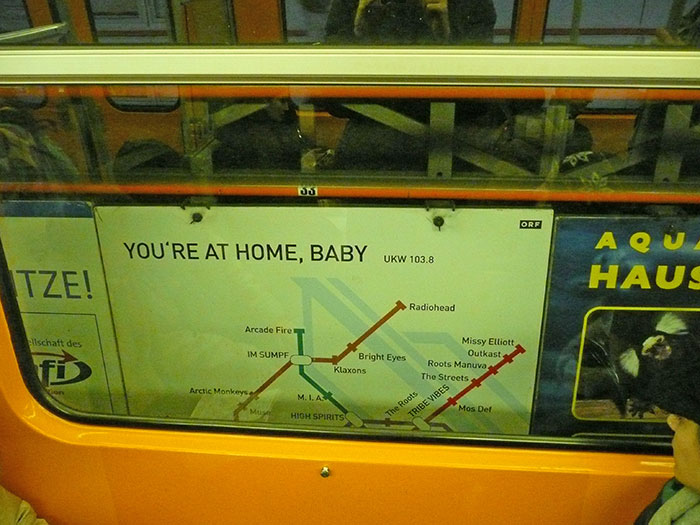 You are at home, baby
