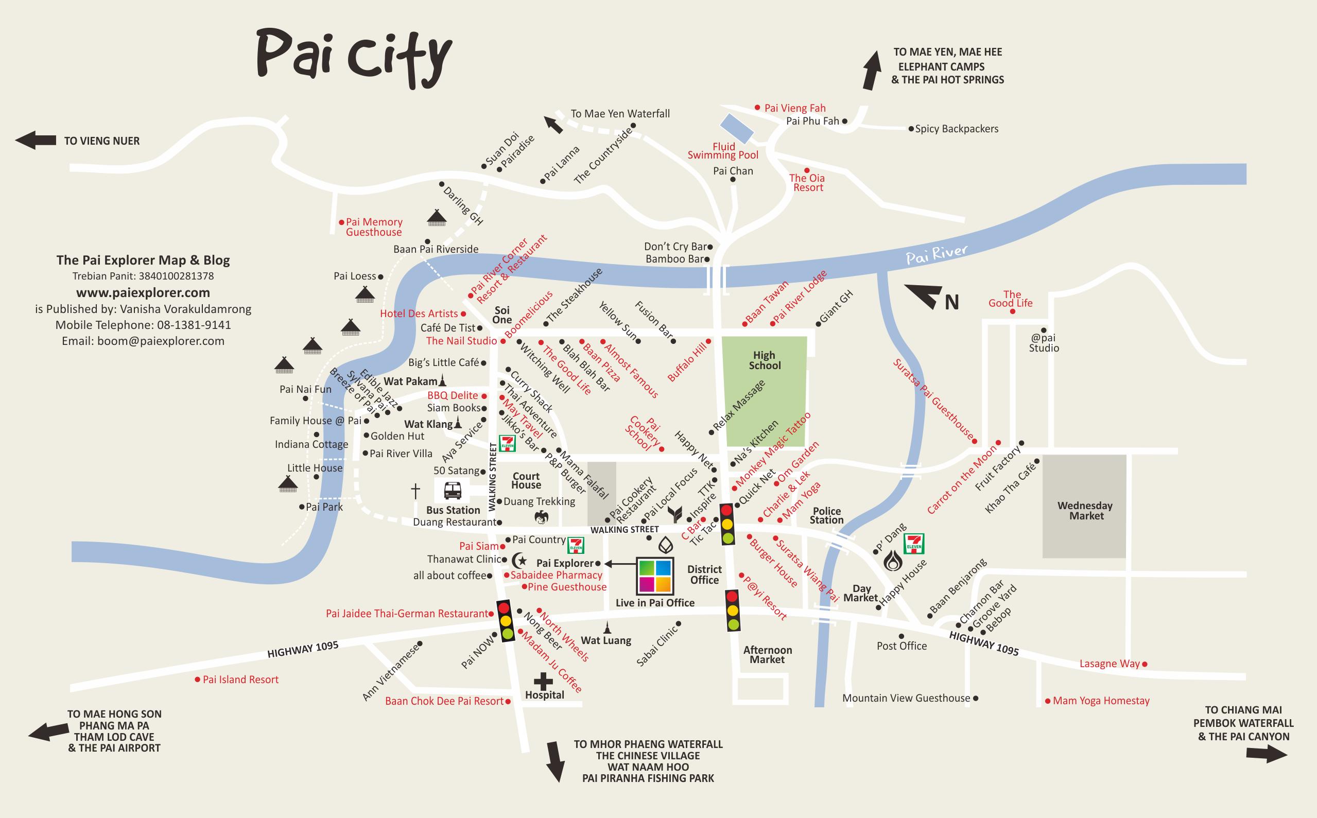 Excellent Pai map