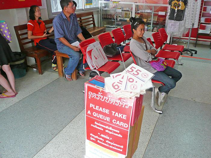 Электронная очередь в почтовом отделении