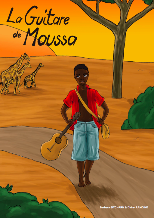 La guitare de moussa
