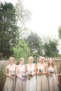wedding photo bride bridesmaid suffolk essex