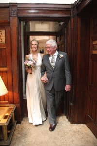 bride and father wedding photograph haverhill suffolk
