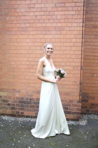 bride wedding dress photograph haverhill suffolk