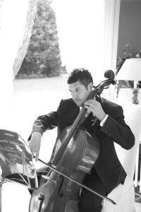 cellist wedding photograph haverhill suffolk