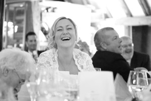 bride laughing essex photograph wedding