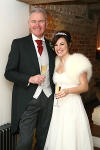 tuddenham mill wedding photo