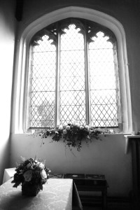 linton wedding church flowers photograph