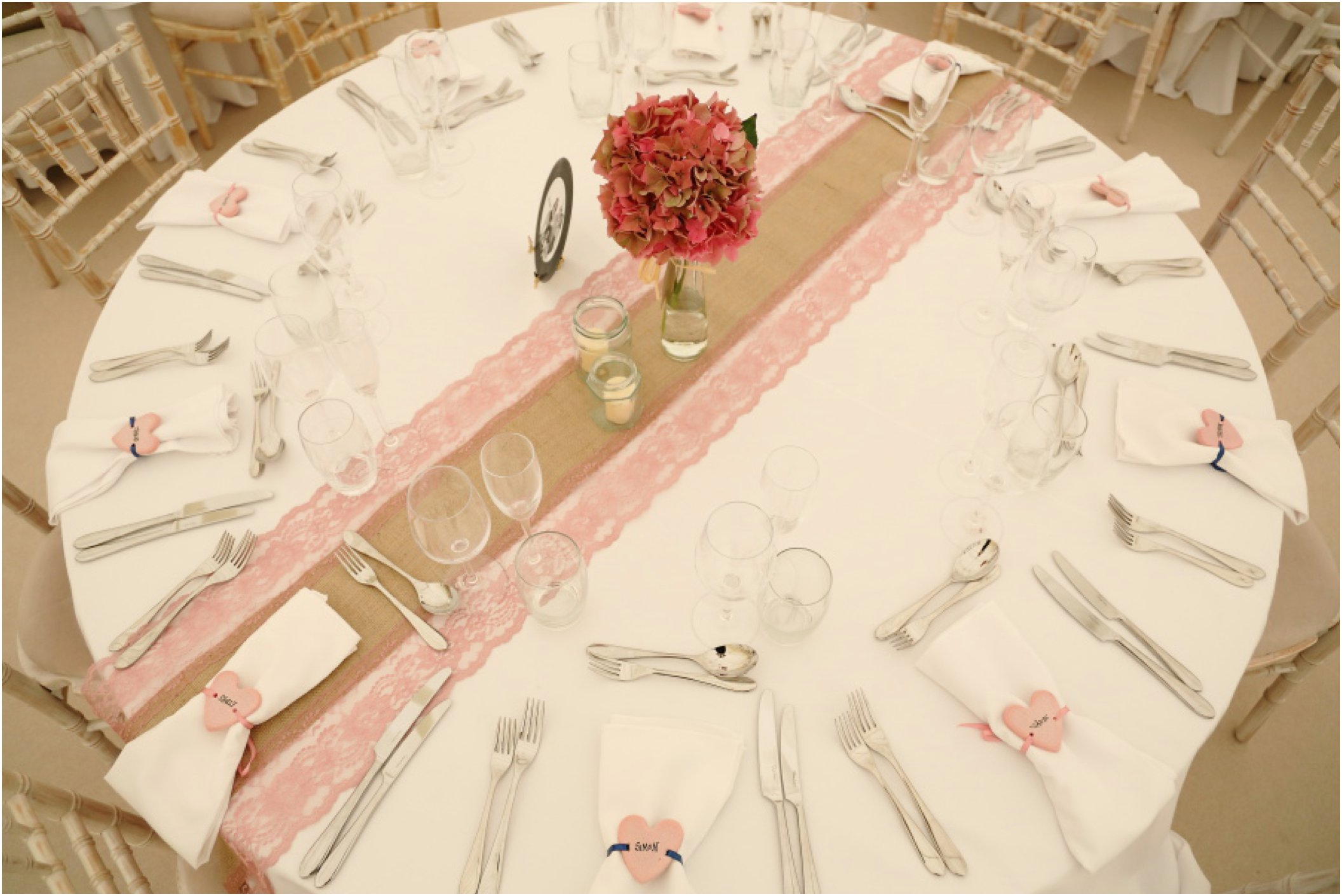 essex wedding beautiful table and flowers pretty vintage