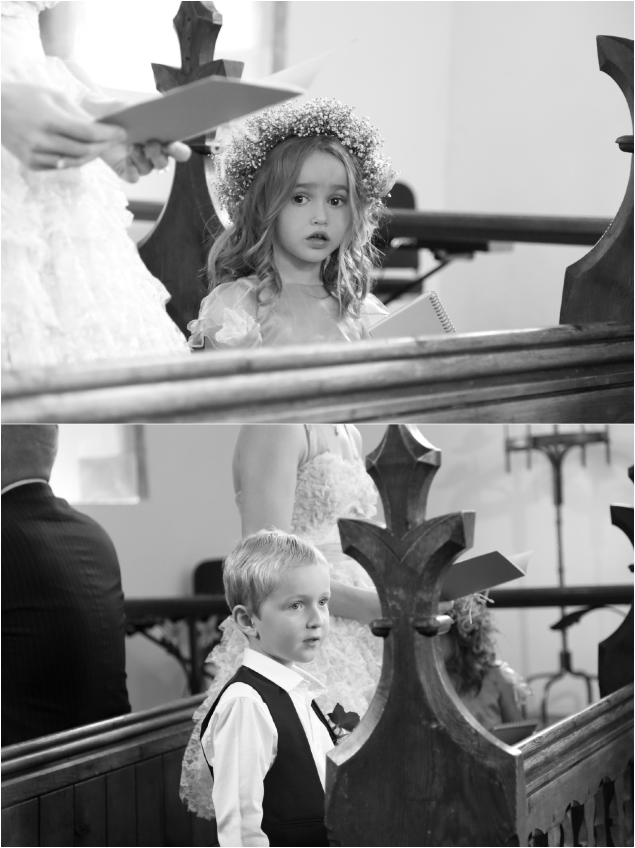 flower girl and page boy essex wedding photography
