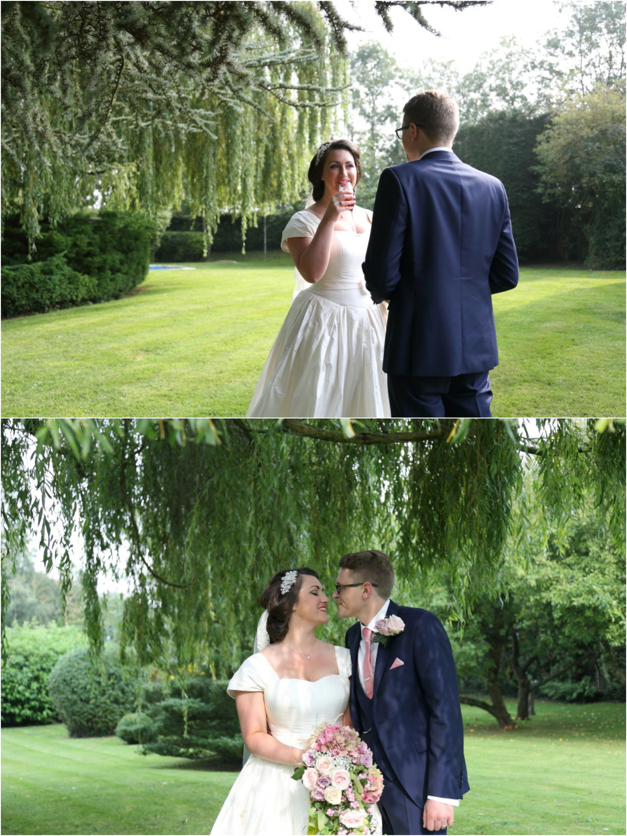 summer garden essex wedding photography - click through for full blog